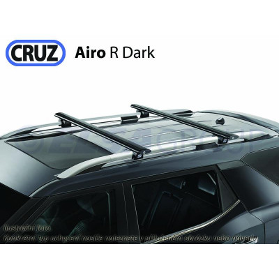 Střešní nosič Nissan X-Trail 5dv. (T32) s podélníky, CRUZ Airo Dark NI925793