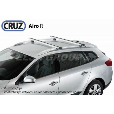 Střešní nosič Saab 9-3 Sport Hatch 05-12, CRUZ Airo ALU SA924793