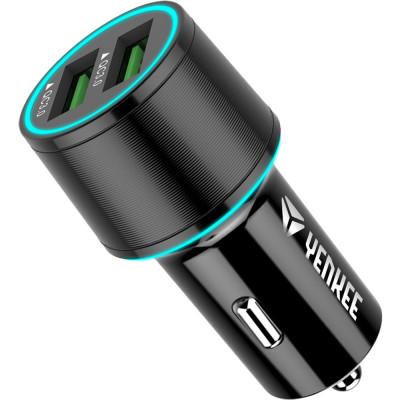 YENKEE YAC 2136 USB autonabíječka QC 3.0