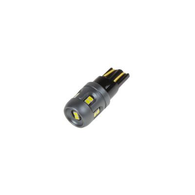 LED T10 bílá, 12/24V, 12LED/2016SMD