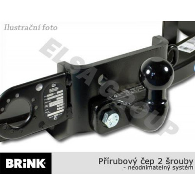 Tažné zařízení Renault Kangoo 2013- (II) , příruba 2š, BRINK TOWING SYSTEMS B.V. B445900