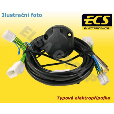 Typová elektropřípojka Kia Sorento 2018- (UM PE) , 13pin, ECS KI132DX