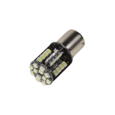LED BA15s bílá, 12V, 44LED/3528SMD