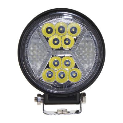 LED světlo kulaté s pozičním světlem, 24x1W, ø115x140mm, ECE R10