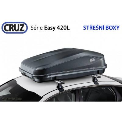 Střešní box CRUZ EASY 420A, matná černá 940461U