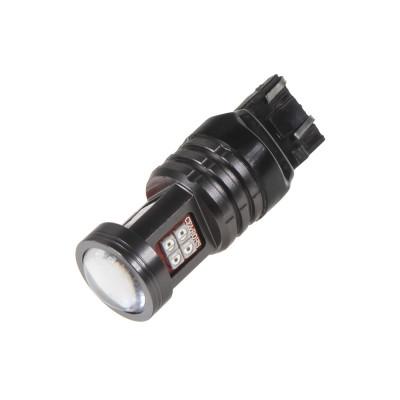 LED T20 (7443) červená, 12-24V, 13LED/2835SMD