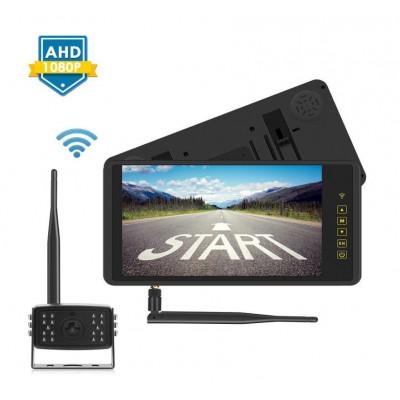 """SET bezdrátový digitální kamerový systém s monitorem 9"""" AHD na zrcátko"""