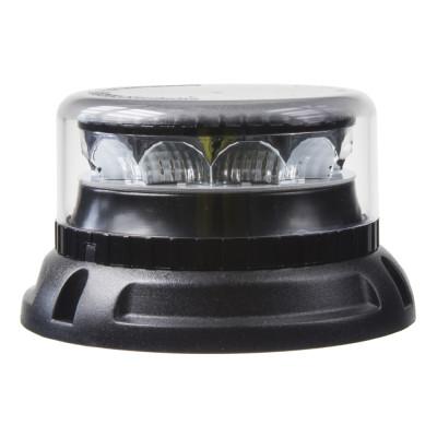 PROFI LED maják 12-24V 12x3W oranžový čirý 133x76mm, ECE R10