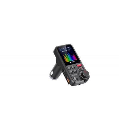 Bluetooth/MP3/FM modulátor bezdrátový s USB/SD portem do CL s TFT LCD