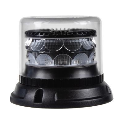 PROFI LED maják 12-24V 24x3W oranžový čirý133x86mm, ECE R65