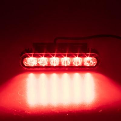 PROFI výstražné LED světlo vnější, červené, 12-24V