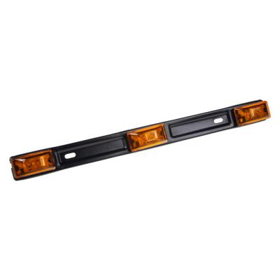 Boční obrysové světlo LED, oranžové 12/24V