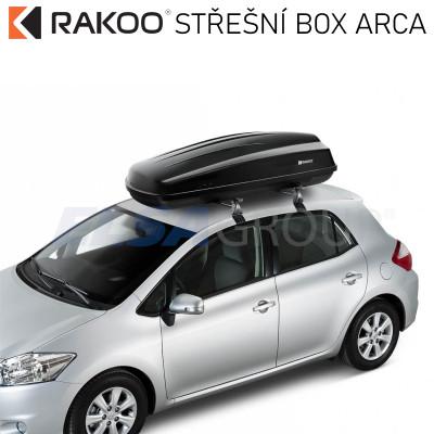Střešní box ARCA 430B, RAKOO R140101002