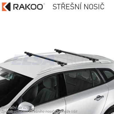 Střešní nosič Kia Carnival 5dv. MPV 06-15, RAKOO R100201202