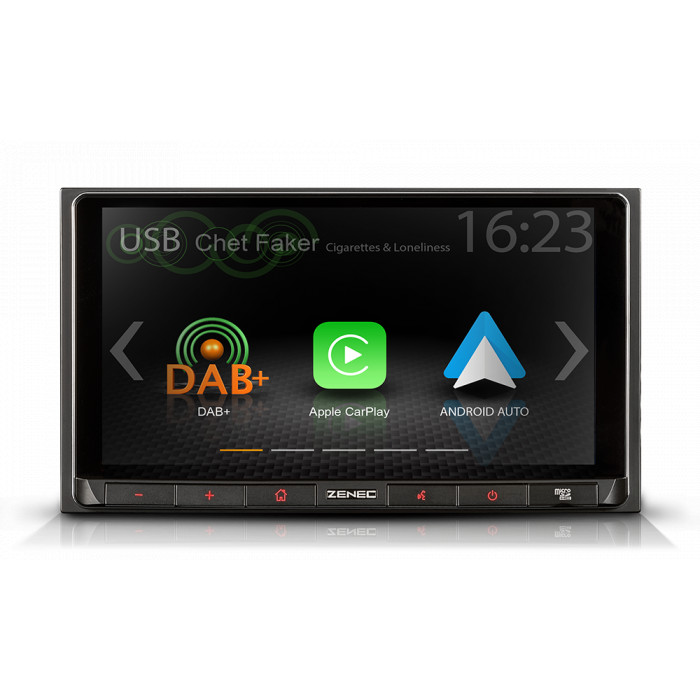 ZENEC Z-N528 autorádio 2DIN s Apple CarPlay a Google Android Auto