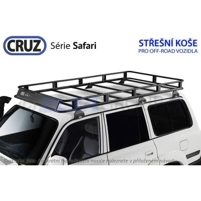 Střešní koš Isuzu Rodeo double cab, Cruz Safari IS935644NB+901903