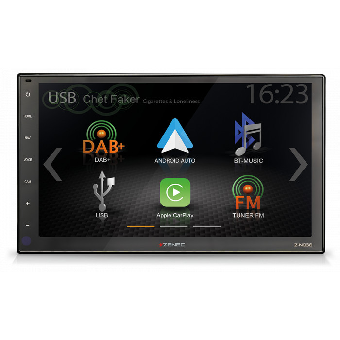 ZENEC Z-N966 autorádio s Apple CarPlay a Google Android Auto