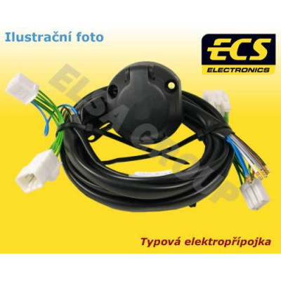 Typová elektropřípojka Ford Galaxy 2000-2006 , 7pin, ECS VW011BB