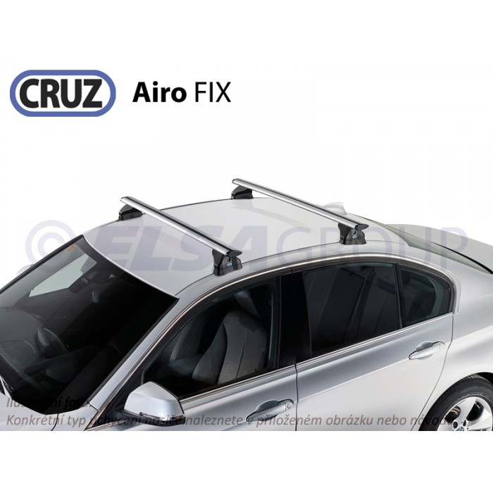 Střešní nosič Citroen C4 3/5dv. 04-11, CRUZ Airo FIX