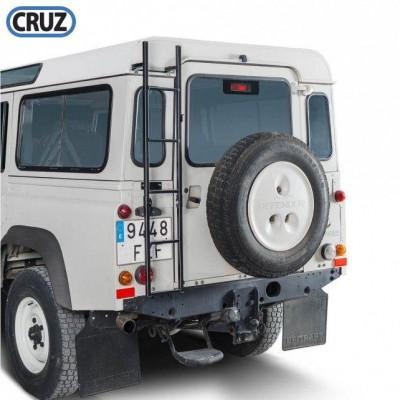 Žebřík pro Land Rover Defender, sklopný, 120,5 cm.