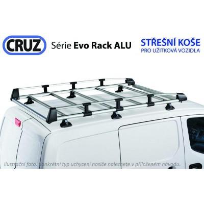 Střešní koš Ford Transit / Tourneo Custom (13-) L2H1, Cruz Evo ALU