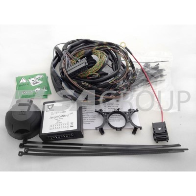 Typová elektropřípojka BMW X1 2009-2015/09 (E84) , 7pin, Erich Jaeger