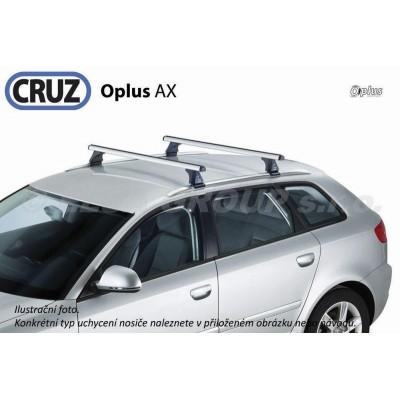 Střešní nosič Opel Zafira (s integrovanými podélníky po faceliftu 2007-), CRUZ ALU