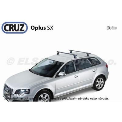 Střešní nosič Opel Zafira (s orig.  integrovanými podélníky po faceliftu 2007-), CRUZ