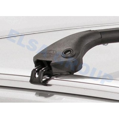 Střešní nosič na integrované podélníky - černý