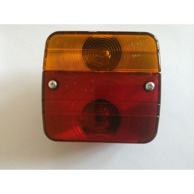 Lampa osvětlení přívěsu - levá, 4 funkce