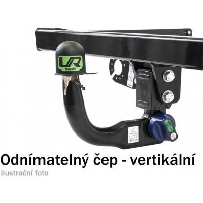 Tažné zařízení Opel Astra GTC 2011- (J), vertikální, Umbra