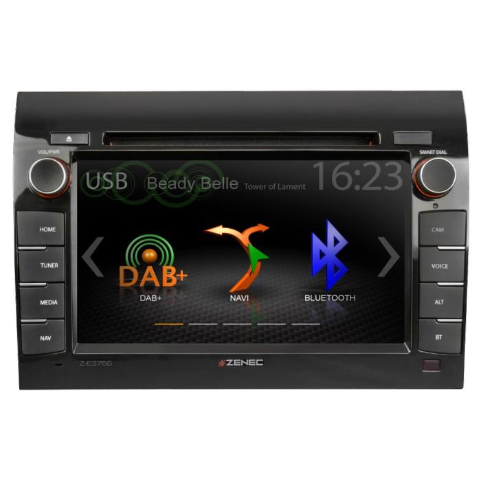 ZENEC Z-E3756 multimediální rádio s GPS Fiat Ducato Caravan
