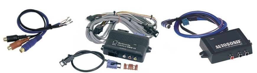 AV adaptéry pro OEM